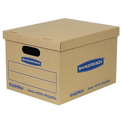 SmoothMove Classic Moving Boxes Tape-Free Assembly 15 x 12 x 10 Inches 10 Pack
