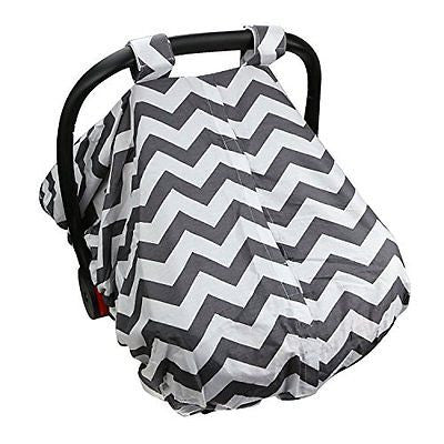 Infant Car Seat Cover Breathable Fabric 100% Safe Hygienic Machine Washable!