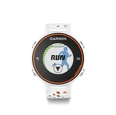 Garmin Forerunner 620 - White/Orange Bundle (Includes Heart Rate Monitor)