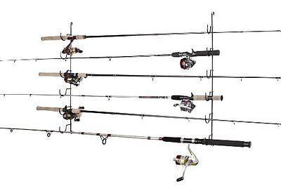 Rack'Em 7006 Horizontal 6-Rod Fishing Rod Rack