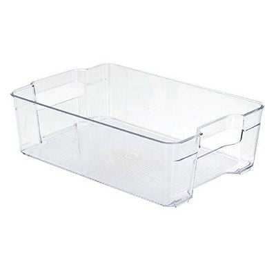 Stackable Storage Bin Basket Stackable Food Container or Storage Refrigerator