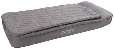 Intex Recreation Velvet Flocked Pattern Twin Airbed Kit
