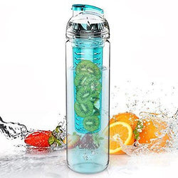 AVOIN colorlife 27oz. Sport Tritan Fruit Infuser Water Bottle