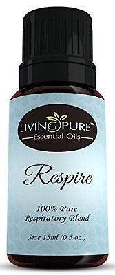 #1 Respiratory Essential Oil & Sinus Relief Blend - Supports Allergy Relief