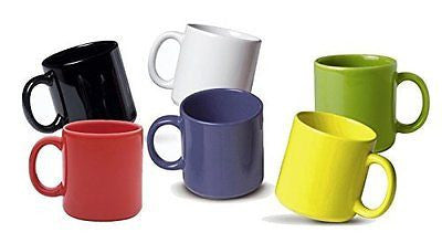 Biona Mugs (Set of 6) Multicolor