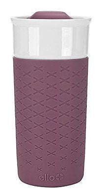 Ogden BPA-Free Ceramic Travel Mug with Lid 12 oz