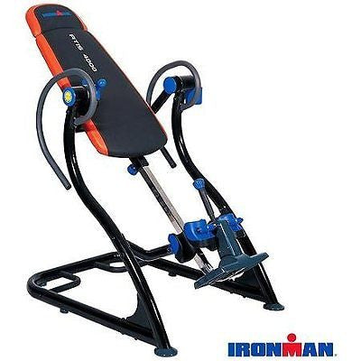 IronMan ATIS 4000 Inversion Table and Core Trainer XL Improves Overall Body