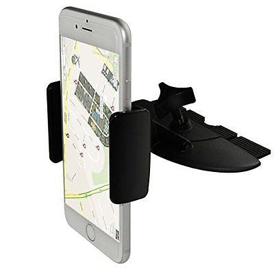 Car Mount, Ipow Universal 360 Cellphone Car Mount Cradle Holder for Iphone 6 Plu