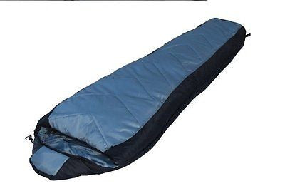 Northstar Tactical Operations Sleeping Bag Hooded Mummy 30 - 40 Degrees (Black)