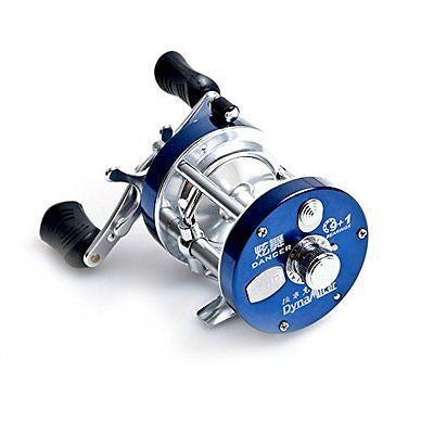 Full Metal 9+1BB Ball Bearings Right Hand Drum Wheel Boat Sea Fishing Reel