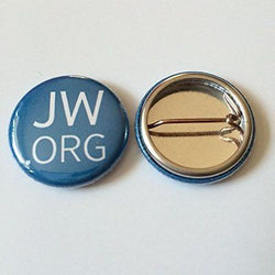 10 1 Inch JW.ORG Jehovah's Witness Buttons Pins Watchtower Free SHIPPING