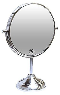 Decobros 8-inch LARGE Tabletop Two-sided Swivel Vanity Mirror