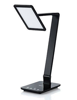 Saicoo? LED Desktop Lamp with Large LED Panel, Seamless Dimming-Control
