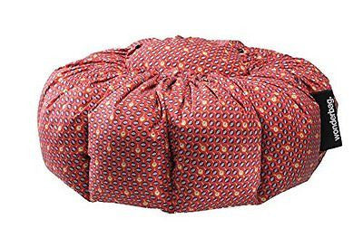 Wonderbag Non-Electric Portable Slow Cooker with Recipe Cookbook Red Batik