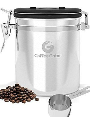 Coffee Canister - Keeps Coffee Delicious for Longer