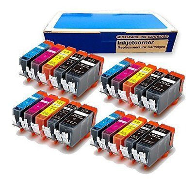 Inkjetcorner 20 Pack Compatible Ink Cartridges for CANON PGI-250XL CLI-251XL