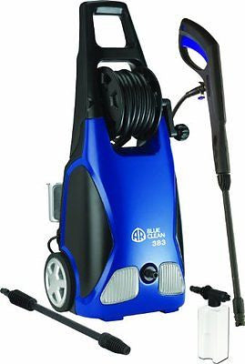 AR Blue Clean AR383 1900 PSI 1.5 GPM 14 Amp Electric Pressure Washer Hose Reel