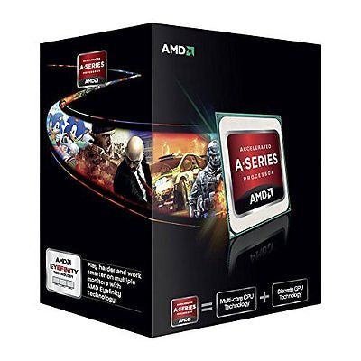 AMD AMD A6-7400K Dual-Core 3.5 GHz Socket FM2+ Desktop Processor Radeon R5