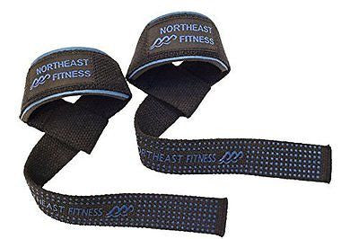 Ultra Strong Weightlifting Wrist Straps for Crossfit, Powerlifting, Bodybuilding