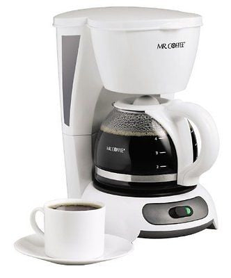 TF4 4-Cup Switch Coffeemaker White