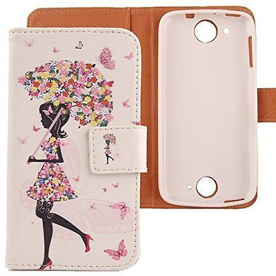 Lankashi Pattern Design Flip PU Leather Cover Skin Protection Case