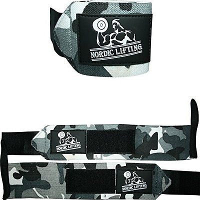 Wrist Wraps (1 Pair/2 Wraps) for Weightlifting/Crossfit/Powerlifting
