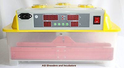 A&I - 144 Quail Egg Digital Incubator / Hatcher AUTOMATIC TURNER Avian Poultry L
