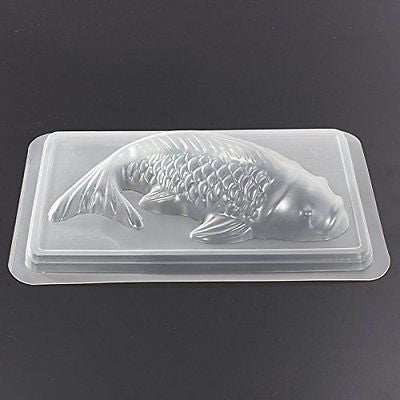 Bluelover Koi Fish 3D Mold Cake Chocolate Mould Jelly Sugar Craft Mold M