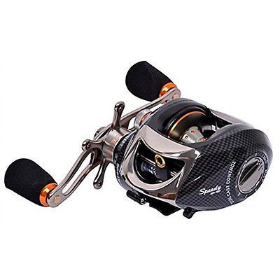 Tsurinoya Speedy200 Baitcasting Fishing Reel 14BB - Black Color