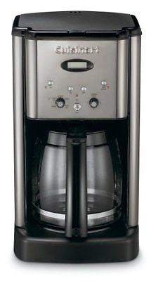 Cuisinart Brew Central 12-Cup Programmable Coffeemaker Black Chrome