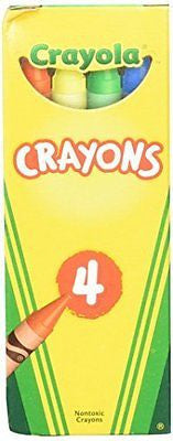 24 Boxes Crayola? 4-ct. Crayon Party Favor Pack