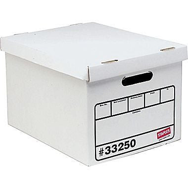 Staples; Economy Storage Boxes 10/Pack