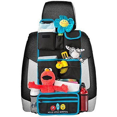 Backseat Car Organizer | Kids Toy Car Storage | Travel Accessories for Baby