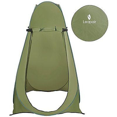Portable Camping Beach Toilet Pop Up Tents Changing Room Outdoor Backpack Bag
