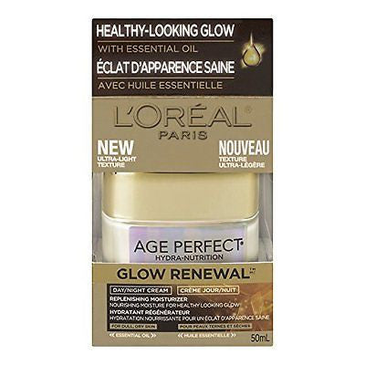 L'Oreal Paris Age Perfect Glow Renewal Day/Night Cream 1.7 Fluid Ounce