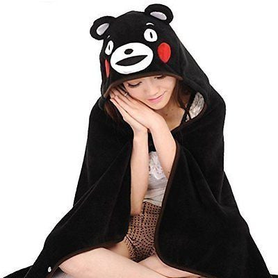 Anime KUMAMON Mascot Costume Cloak Deer Air Conditioner Cape Shawl Blanket