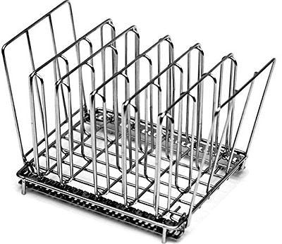 LIPAVI Sous Vide Rack Stainless Steel Square 7.8 X 6.4 Inch Height 6.6 Inch