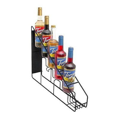 Torani Coffee Syrup Wire Rack (6-750ml bottle rack)