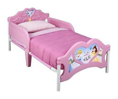 Delta Children 3D-Footboard Toddler Bed Disney Princess