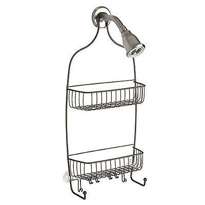 InterDesign Raphael Bathroom Shower Caddy for Tall Shampoo Bottles
