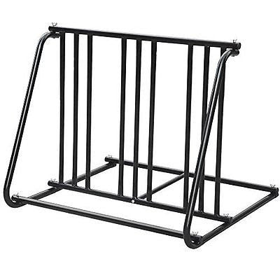 World Pride Steel 1-6 Bikes Floor Mount Bicycle Park Storage Parking Rack