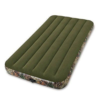 Intex Realtree Prestige Downy Airbed with Separate (6 C-cell) Battery Pump