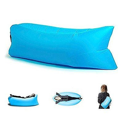 Inflatable Sleeping Bag Camping Air Sofa Folding Air Compression Mattress
