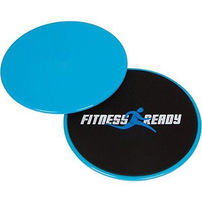 Fitness Ready Core Anywhere Glide Discs with Go Bag - Tone Building