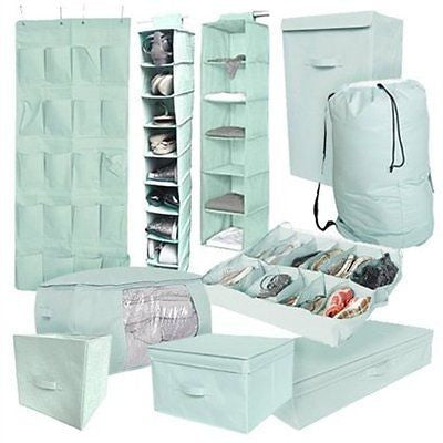 10PC Complete Organization Set - TUSK Storage - Mint