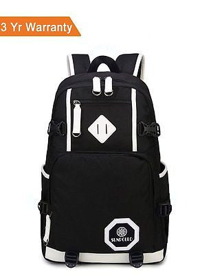 Unisex School Backpack Book Bag Cool Casual Backpack for Boys Girls Students