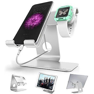 Universal Desktop Cell Phone Stand, ZVE? Aluminium Tablet Stand, Cellphone Holde