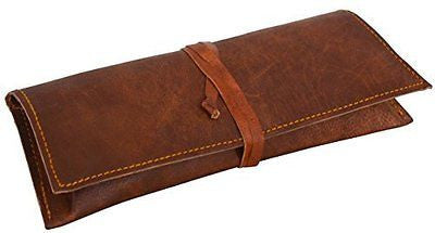 "Gusti Leder nature ""Felix"" Genuine Leather Stationery Pencil Pen Case Art Pouch"