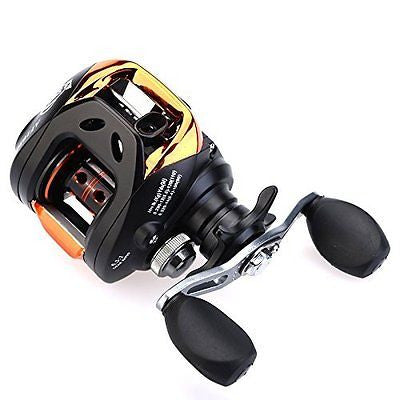 Cisno 11BB 6.3:1 10+1BB Ball Bearings Right Hand Bait Casting Fishing Reel Bait