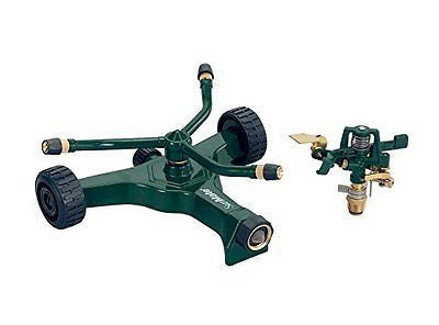 Orbit Wheel Base 3-Arm Rotating Sprinkler 58365